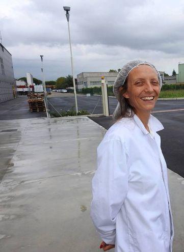 La dottoressa Micaela Bravi, figlia del titolare Luigi (Foto Scardovi)