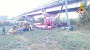 Il camion precipitato