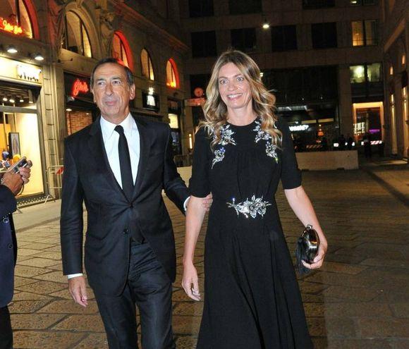 Il sindaco Giuseppe Sala con Chiara Bazoli (Newpress)