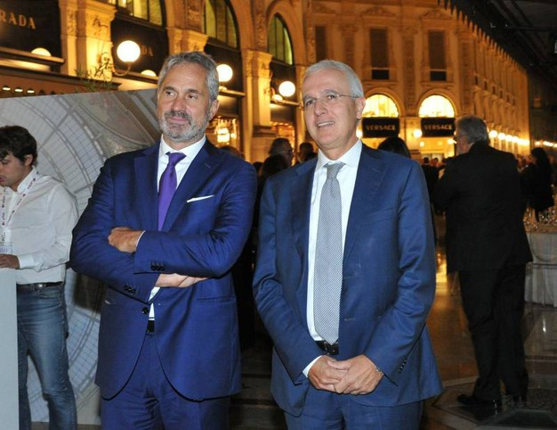 Emanuele Camerano e Giovanni Valotti di A2A (Newpress)