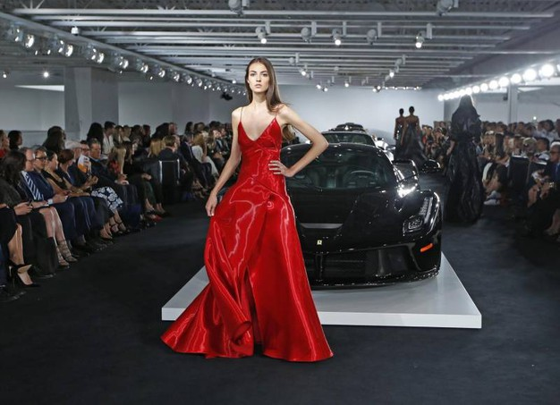 New York Fashion Week, la sfilata di Ralph Lauren (Ansa)