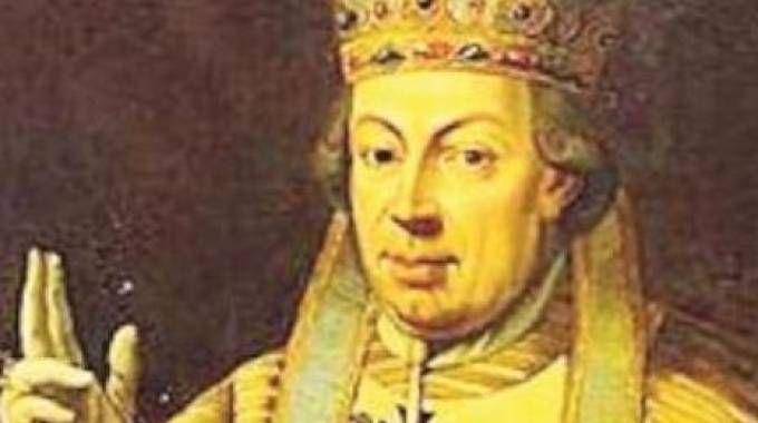 Pio VI, il cesenate Giovanni Angelo Braschi, fu il  247° pontefice romano a fine '700