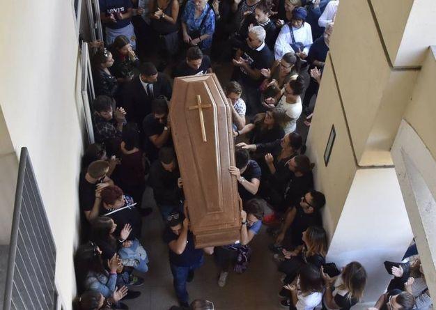 Il funerale di Matteo Nigiotti (foto Novi)