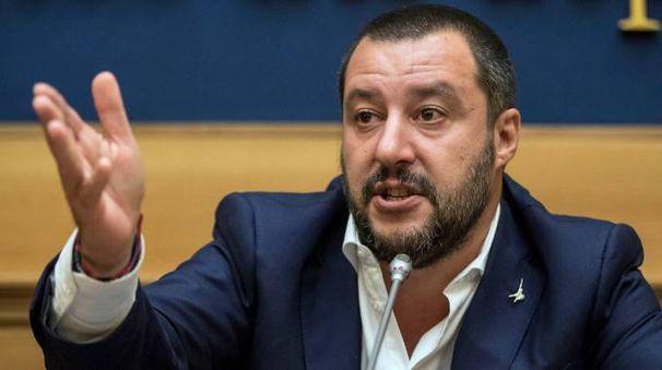 Matteo Salvini  (foto Lapresse)
