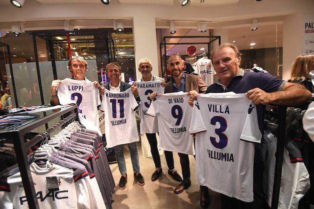 Luppi, Marronaro, Paramatti, Di Vaio e Villa (foto Schicchi)
