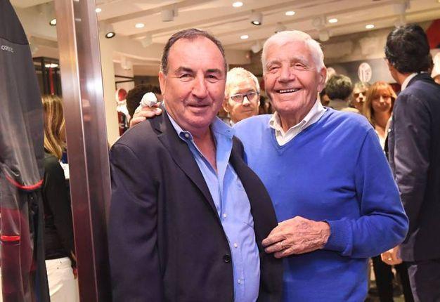 Franco Cresci e Mirko Pavinato (foto Schicchi)