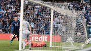 Il gol di Masiello (Ansa)