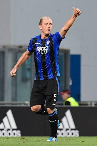 Esultanza di Masiello per il gol (AFP)