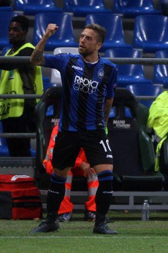 Esultanza di Gomez per il gol 2-0 (LaPresse)