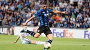 Il gol di Cristante 3-0 (Ansa)