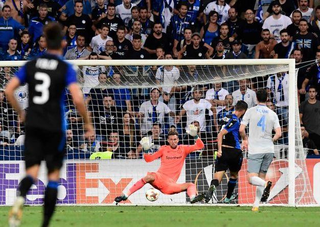 Il gol di Cristante 3-0 (AFP)