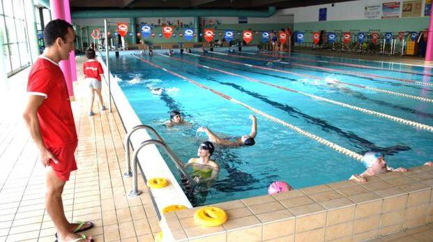 La piscina di Trezzo