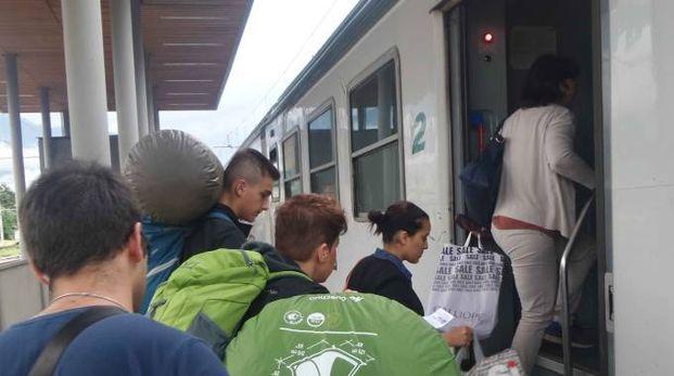 Pendolari sui treni