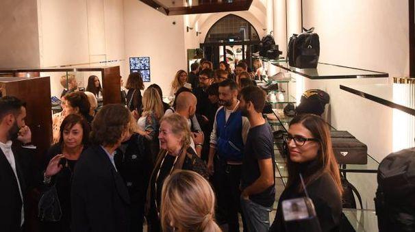 L'inaugurazione nel nuovo negozio di alta moda 'FR' (Foto Schicchi)