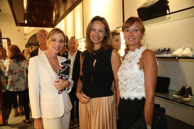 Eva Cangini, Daniela Berti e Francesca Servadei