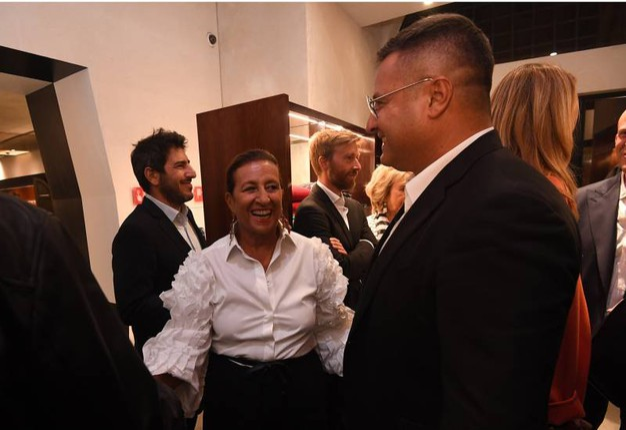 Un momento dell'inaugurazione (Foto Schicchi)