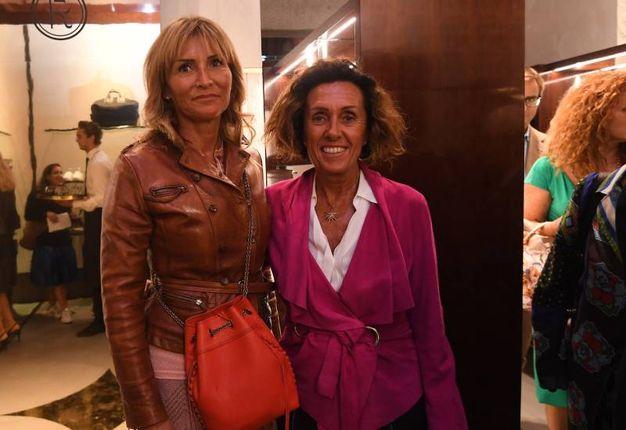 Valeria Caddeo e Antonella Liprandi (Foto Schicchi)
