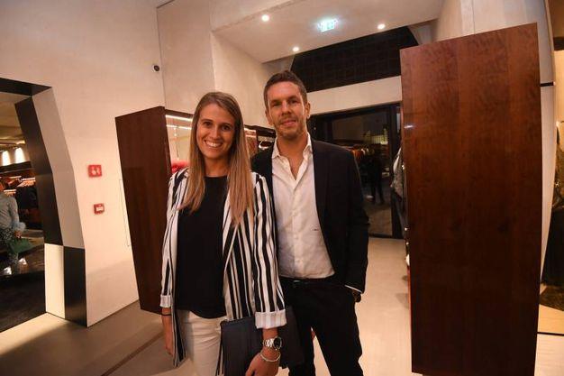 Deborah Merola e Enrico Borghi Cavazza (Foto Schicchi)