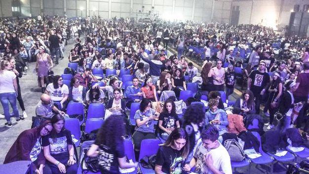 Migliaia di persone al raduno (foto Pasquale Bove)