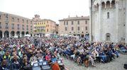 1200 posti in piazza Grande a Modena (foto Fiocchi)