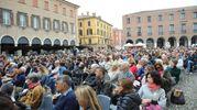 Tante persone ad assistere alle lezioni magistrali (foto Fiocchi)