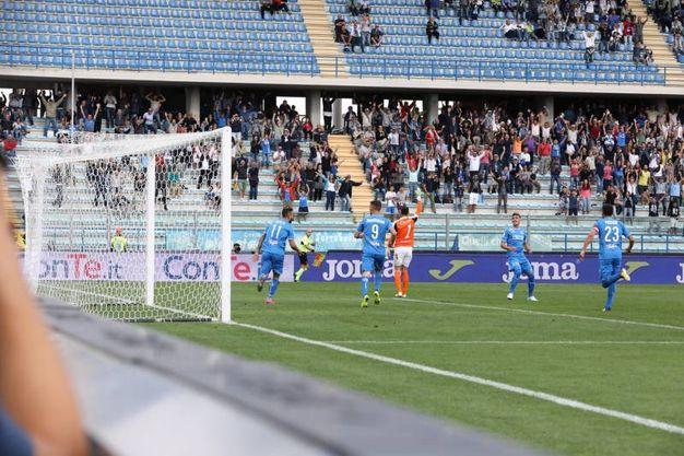 Un momento della partita (Tommaso Gasperini / Fotocronache Germogli)
