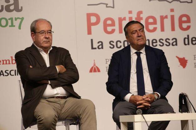 ll sottosegretario allo sviluppo economico, Antonello Giacomelli, Intervistato dal direttore de La Nazione, Francesco Carrassi