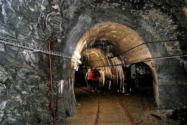 L'interno della miniera