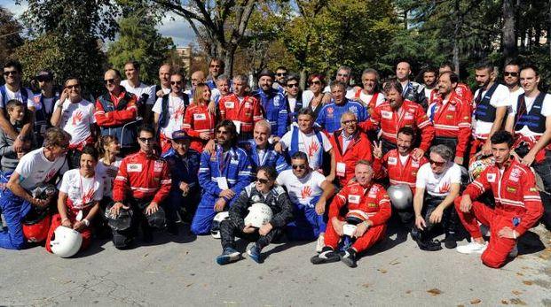 Il gruppo dei piloti (foto Calavita)