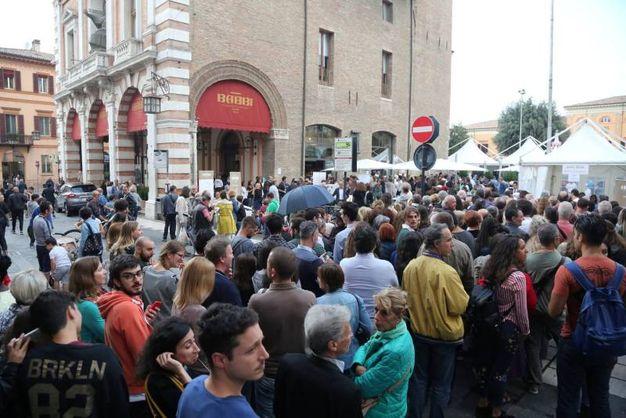 L'inagurazione del Babbi Caffé in centro storico a Cesena (foto Ravaglia)
