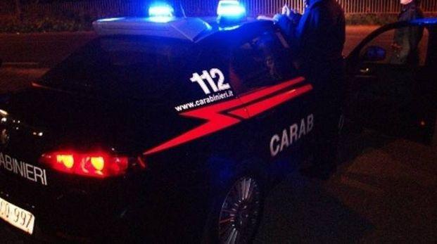 Una pattuglia dei carabinieri