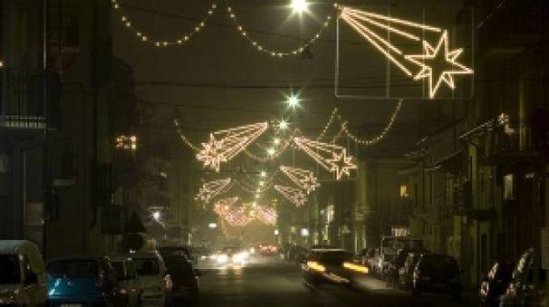 Quest'anno la città potrebbe non essere illuminata a Natale