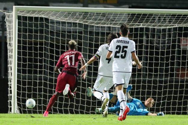 Cittadella-Cesena 4-0, niente da fare per i bianconeri (foto Lapresse)