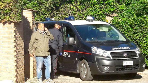 I Ris nella villetta di Vito Clericò, accusato dell'omicidio della promoter Marilena Re