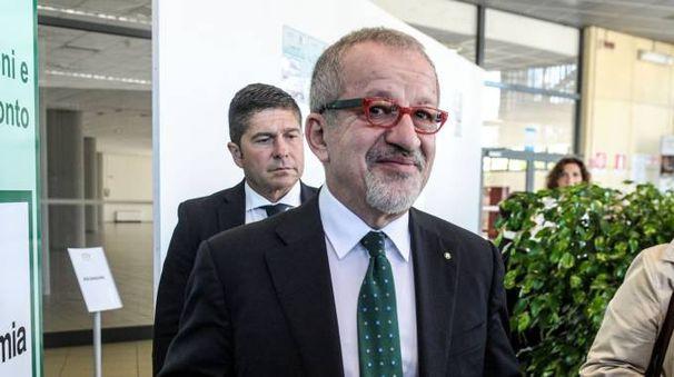Roberto Maroni al convegno sul referendum