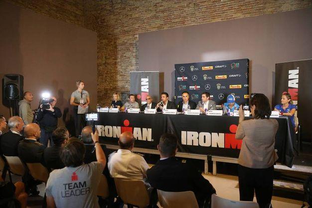 La presentazione di Ironman, tappa italiana di Cervia (foto Zani)