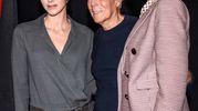 Con la Principessa Charlene Di Monaco e Cate Blanchett (LaPresse)