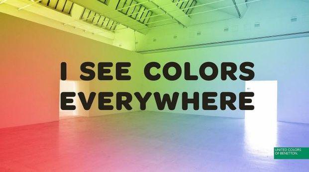 'I See Colors Everywhere'