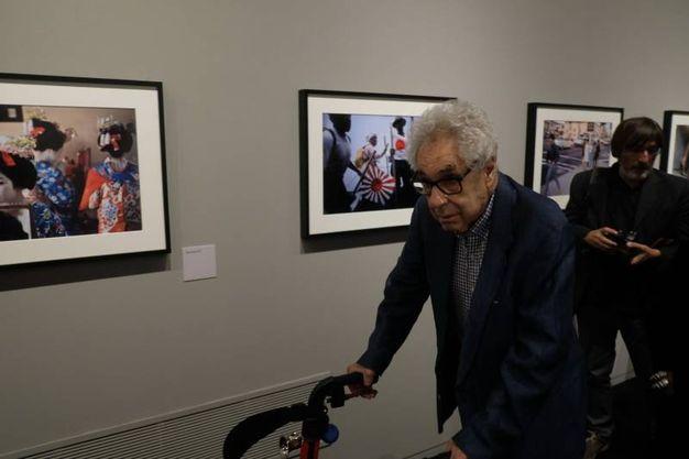 L'inaugurazione della mostra fotografica di Elliott Erwitt a Forlì (foto Frasca)