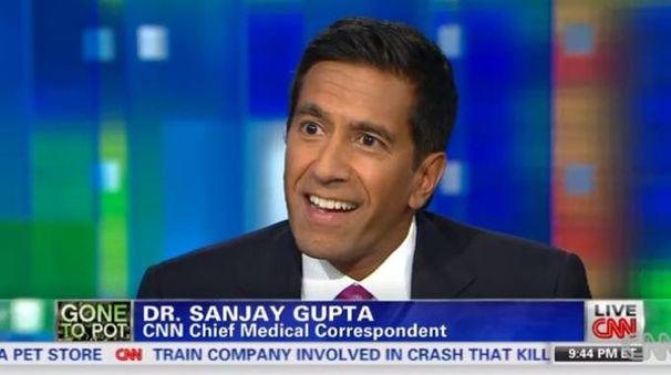 Il dottor Sanjay Gupta, neurochirurgo e reporter di Cnn