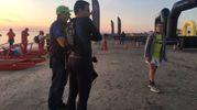 Cervia, Ironman 2017. Tutto pronto all'alba per la carica degli uomini d'acciaio (Foto Bedeschi)