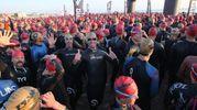 Cervia, Ironman 2017, la carica dei 2.500 atleti (Foto Zani)