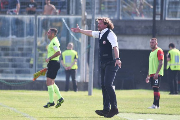 Mister Stroppa allenatore del Foggia (La Presse)