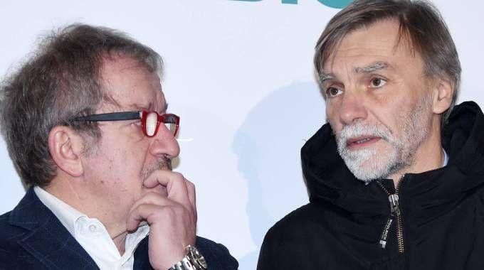 Maroni con il ministro Delrio