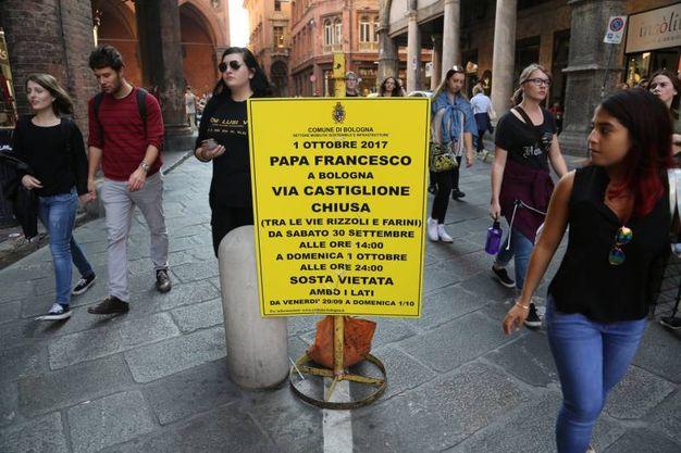 Papa Francesco arriva in città alle10,30 (foto Schicchi)
