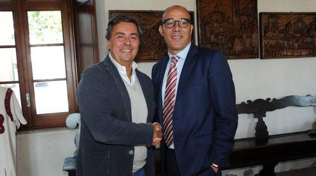 Alberto Oldrini e Luca Bonini