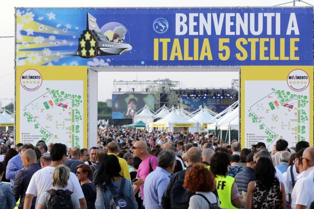 Alla Fiera di Rimini la seconda giornata di 'Italia a Cinque Stelle' (foto Petrangeli)