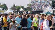Grande affluenza per il raduno del M5S (foto Petrangeli)