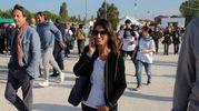 Virginia Raggi alla Fiera di Rimini per la kermesse 'Italia a Cinque Stelle' (foto Petrangeli)