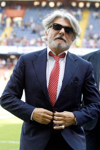 Il presidente Ferrero (Lapresse)